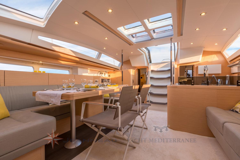 Voilier Jeanneau Yachts 58 - Voilier de croisière à Marseille