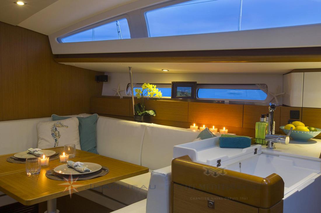 Voilier Jeanneau Sun Odyssee 44 DS, voilier à Marseille, Yacht Méditerranée.