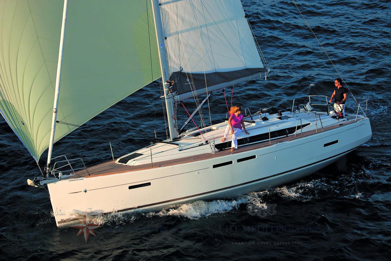 Voilier Jeanneau Sun Odyssee 419, voilier +12m à Marseille, Yacht Méditerranée.