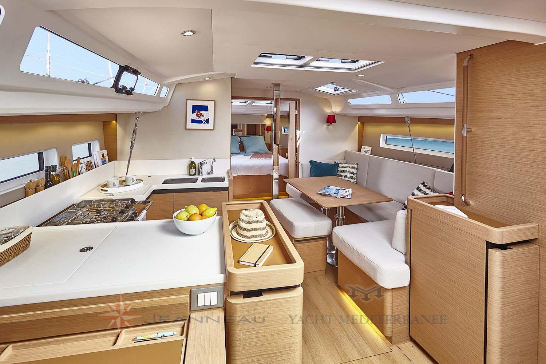 Sun Odyssey 440 par Jeanneau bateaux, la nouvelle génération de Sun Odyssey - Jeanneau Marseille