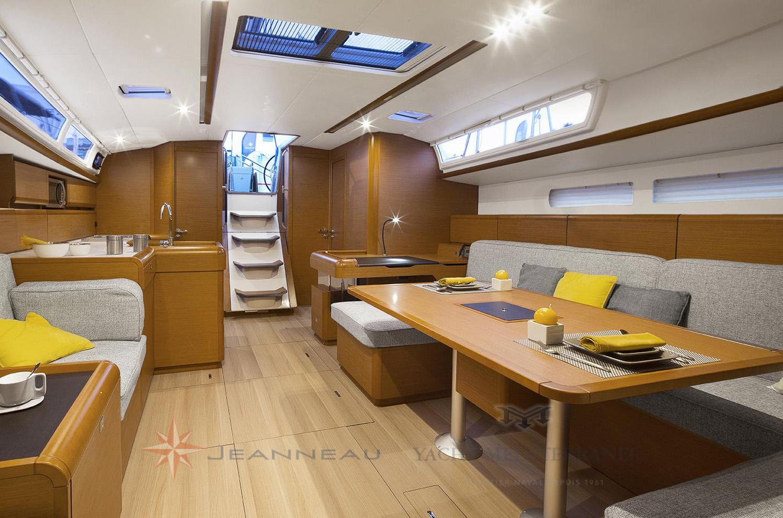 Vente bateau Marseille - Jeanneau Sun Odyssey 519 - Yacht Méditérranée