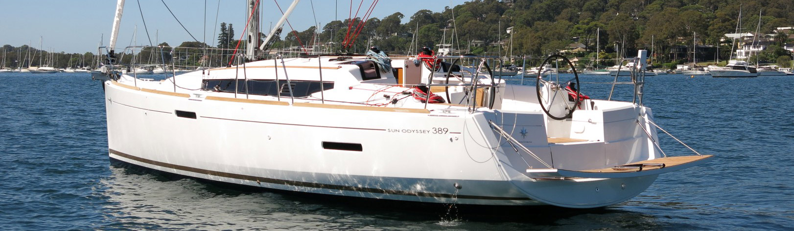 Voilier Jeanneau Sun Odyssee 389, voilier à Marseille, Yacht Méditerranée.