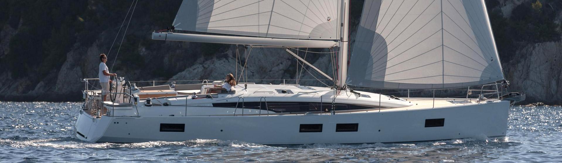 Voilier Jeanneau Yachts 51, voilier de croisière Marseille, Yacht Méditerranée.