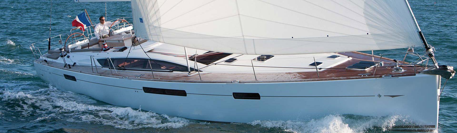 Voilier Jeanneau Yachts 58, voilier de croisière Marseille