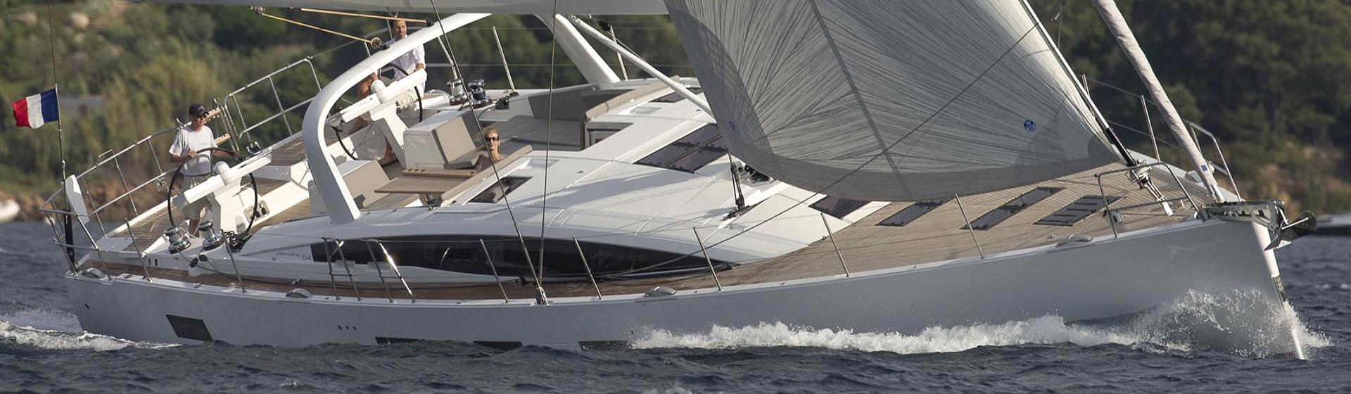 Voilier Jeanneau Yachts 64, voilier de croisière Marseille, Yacht Méditerranée.