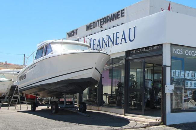 Yacht m diterrann e votre concessionnaire jeanneau for Marseille achat