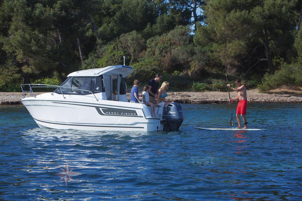 Bateau Hors bord Jeanneau Merry Fisher 605 – Yacht Méditerranée Marseille vente de bateaux neufs et occasions