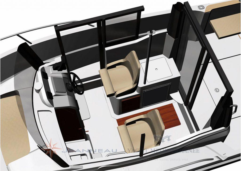 bateau hors bord jeanneau merry fisher 695 marlin  u2013 yacht