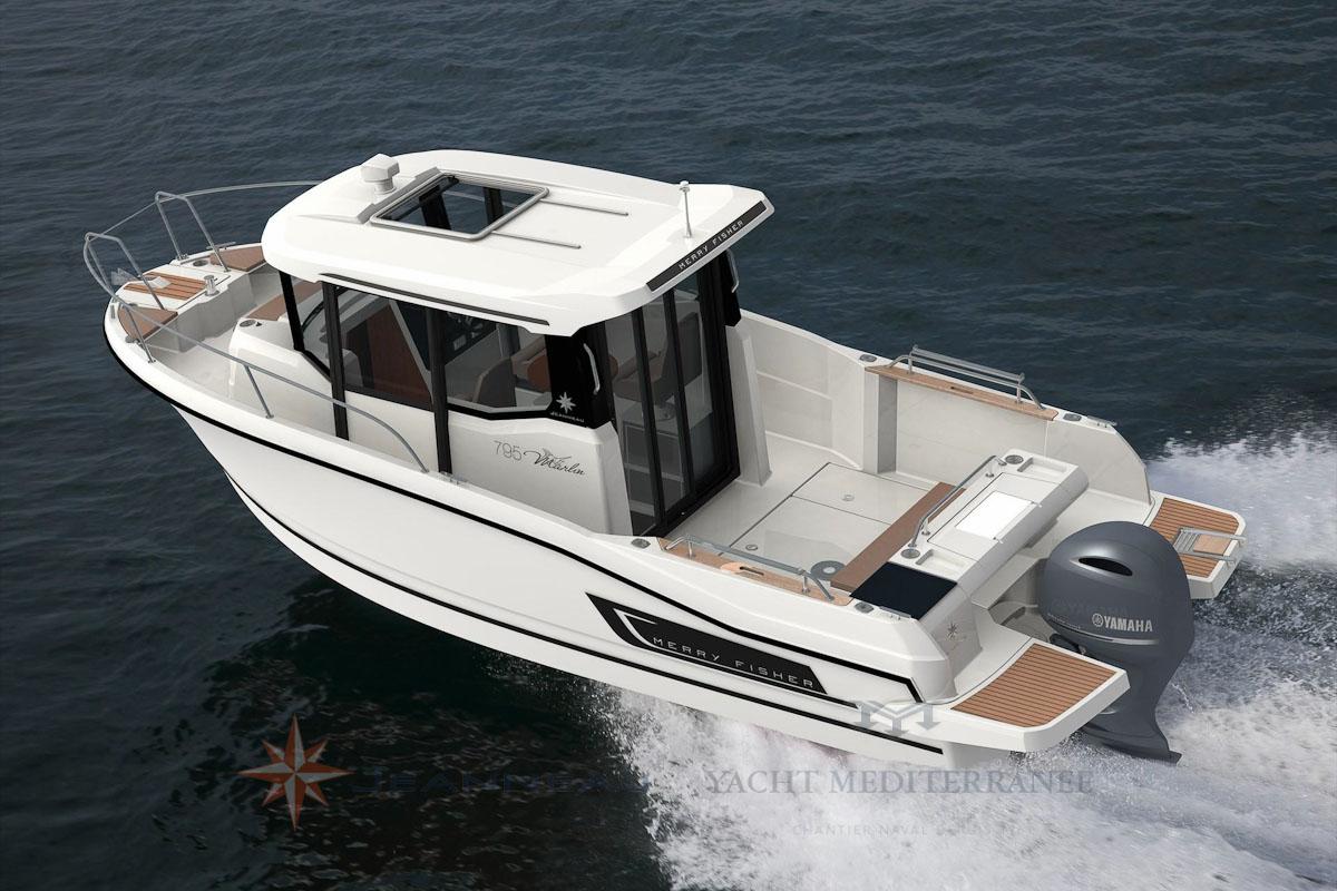 Bateau Hors bord Jeanneau Merry Fisher 795 Marlin – Yacht Méditerranée Marseille vente de bateaux neufs et occasions
