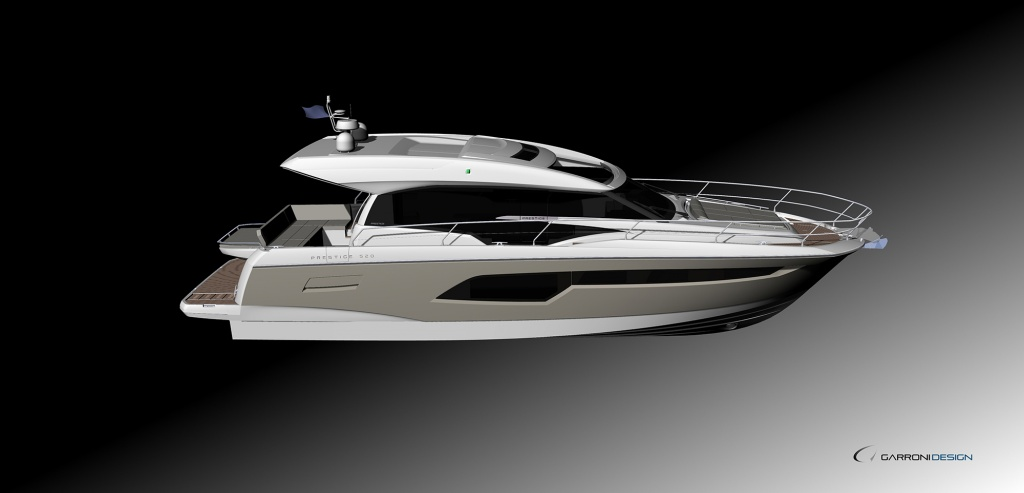 Yacht Prestige Coupé Line 520S – Yacht Méditérranée Marseille Cannes Nice Saint Tropez – Luxury Yachts