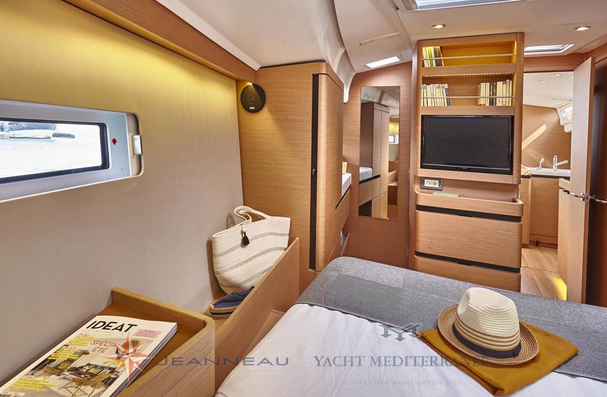 Vente bateau Marseille - Nouveautés 2018 Jeanneau Sun Odyssey 490 - Yacht Méditerranée Marseille