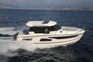 Essais clients Jeanneau et Prestige Cannes - Jeanneau Merry Fisher 1095 - Yacht Méditerranée Marseille