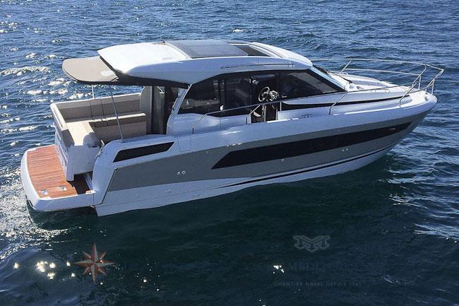 Essais clients Jeanneau et Prestige Cannes - Jeanneau NC33 - Yacht Méditerranée Marseille