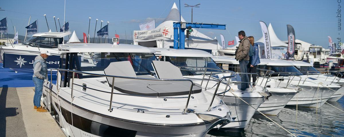 Salon nautique de la Ciotat - Les Nauticales - Yacht Mediterranee - Jeanneau Marseille