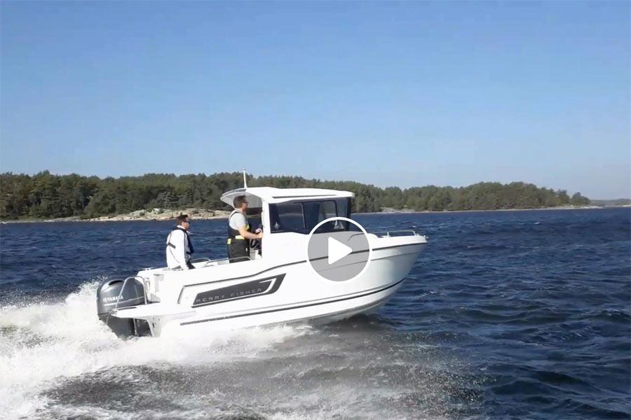 Première sortie en Suède pour le nouveau Merry Fisher 605 Marlin