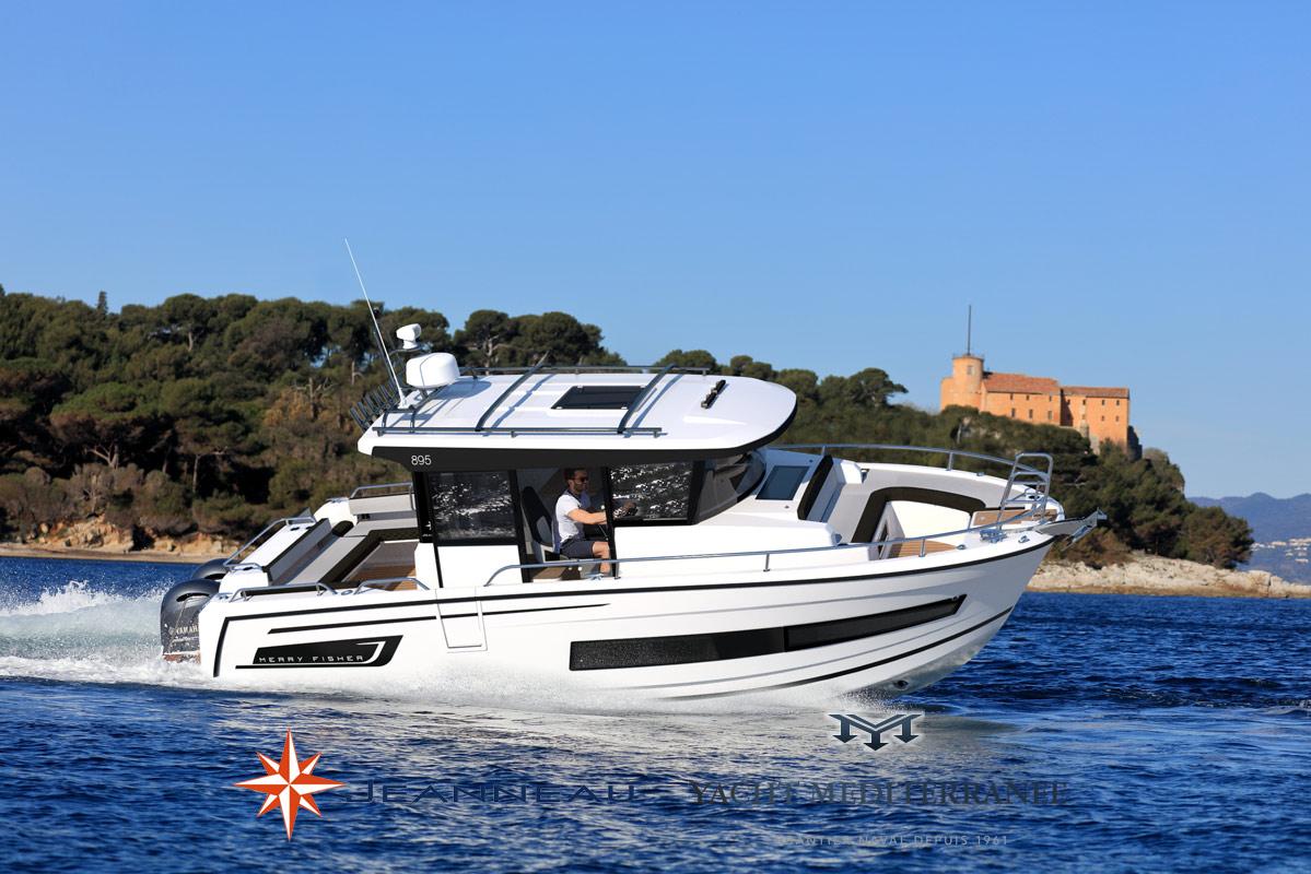 Bateau Hors bord Jeanneau Merry Fisher 895 Marlin – Yacht Méditerranée Marseille vente de bateaux neufs et occasions