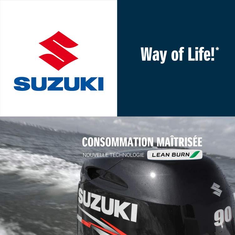 Moteur hors-bord Suzuki Marine à Marseille Pointe Rouge