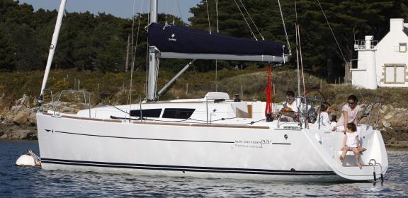 Annonce Occasion Bateau Sun Odyssey 33i - Yacht Mediterranée