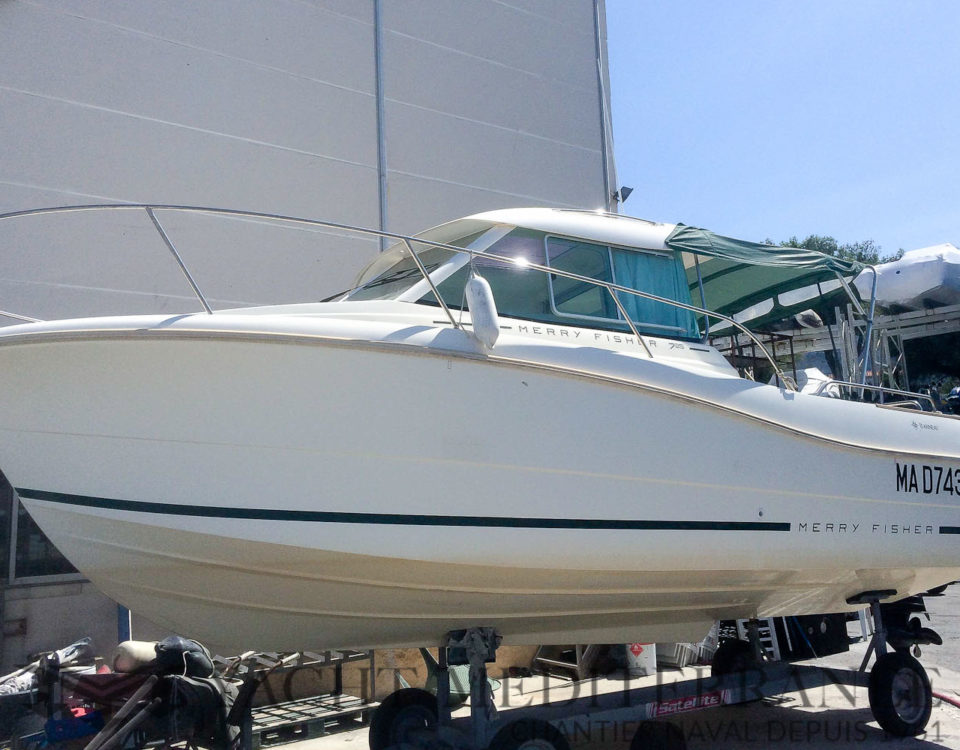 Annonce Occasion Bateau JEANNEAU MERRY FISHER 725